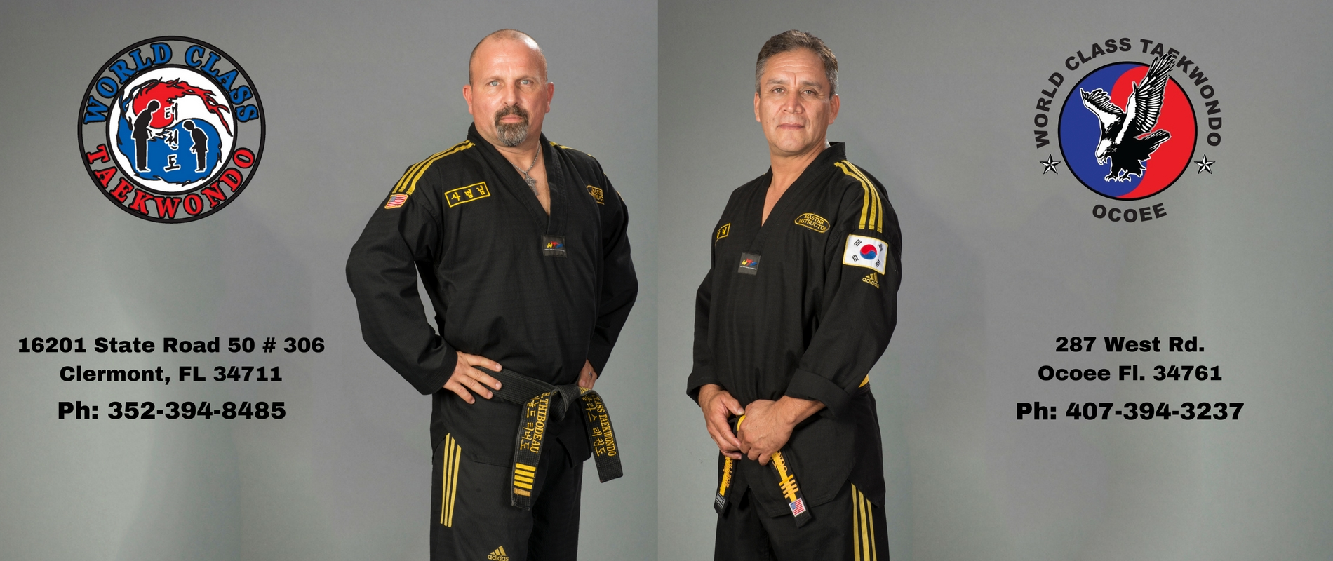 Clermont and Ocoee<br>Martial Arts for ALL AGES